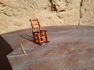silla decoración