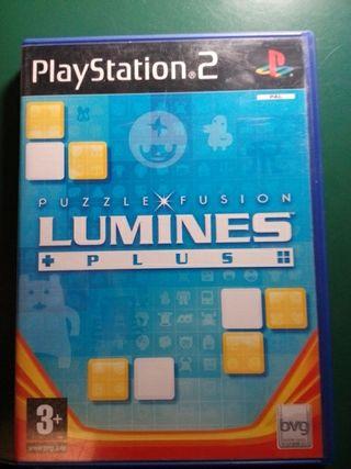 lumines plus puzzle fusion