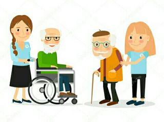 Cuidadora de niños/ancianos/animales