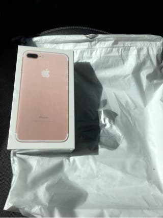 IPHONE 7 PLUS 256 G ROSE GOLD IMPOLUTO E IMPECABLE
