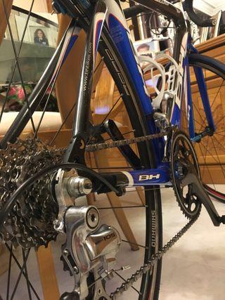 OFERTA COMBO!!! Bicicleta full carbono + rodillo