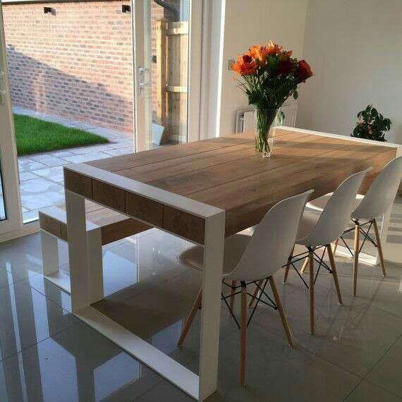 Mesa de comedor estilo industrial de segunda mano por 360 for Mesa de comedor de estilo industrial