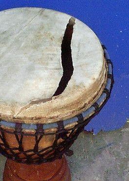 Reparación de djembes y percusión