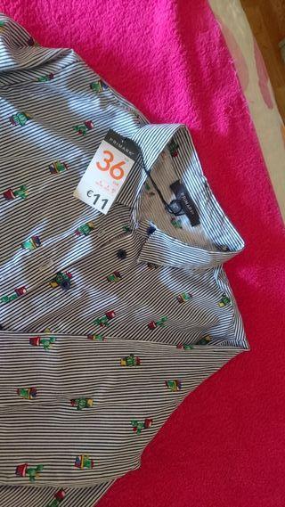 Camisa cactus mujer 36