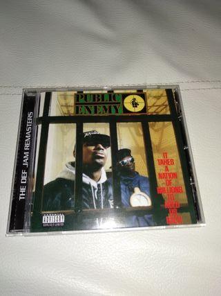 CD Rap PUBLIC ENEMY ,- IT TAKES A NATION..