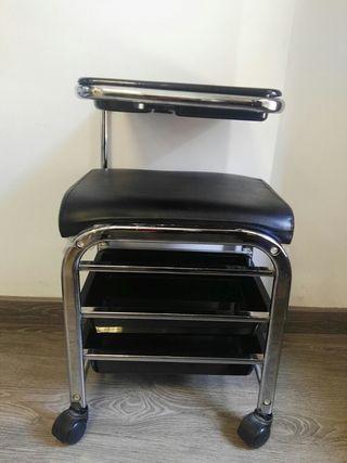 carrito manicura negro