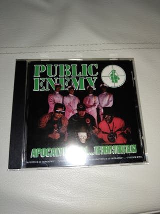 Cd Rap PUBLIC ENEMY -APOCALIPSE 91