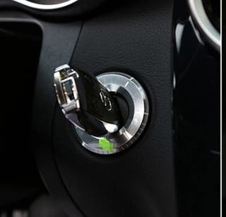 Embellecedor AMG contacto Llave Mercedes PLATA