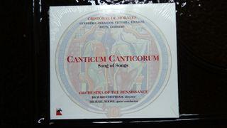"CD Nuevo""Canticum Canticorum"" Cristobal de Morales"