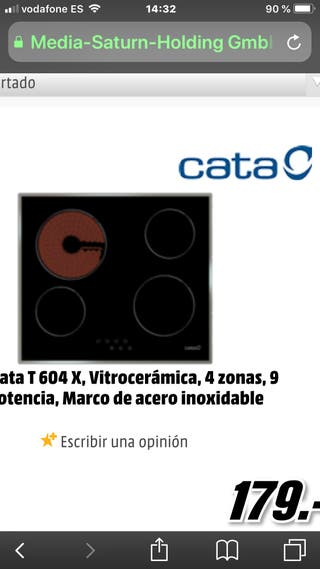 Vitroceramica cata