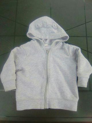 sudadera Benetton 9-12 meses bebé
