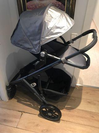 Cochecito bebé- Uppa Baby Vista - Recién estrenado