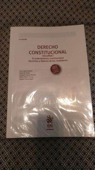 Libro Derecho Constitucional. Volumen I