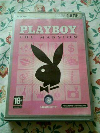 JUEGO PC PLAYBOY THE MANSION OFICIAL COMO NUEVO