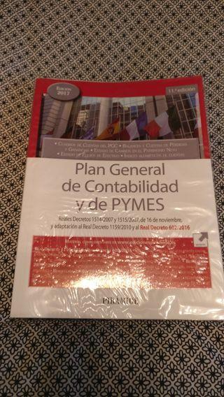 Libro Plan General de Contabilidad y de PYMES