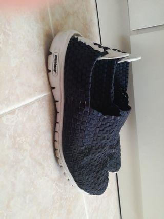 zapatillas elasticas mustang