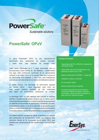 bateria estacionaria opzv powersafe hawker 1500ah