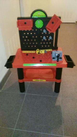 banco herramientas juguete