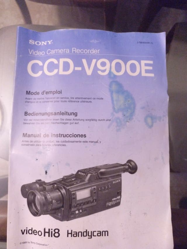 Camara de video SONY Hi8