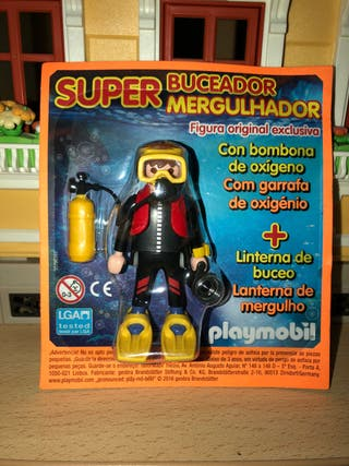 Blister revista playmobil