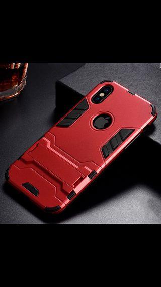 iPhone X XS funda carcasa protector con soporte.