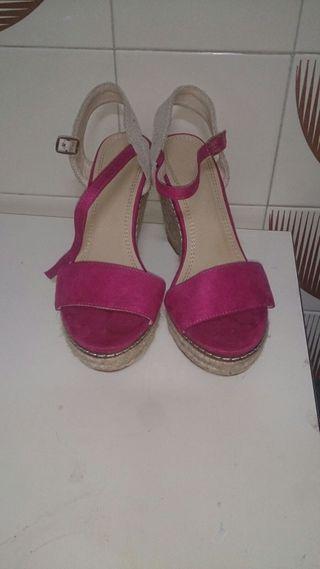 zapatos plataforma talla 37