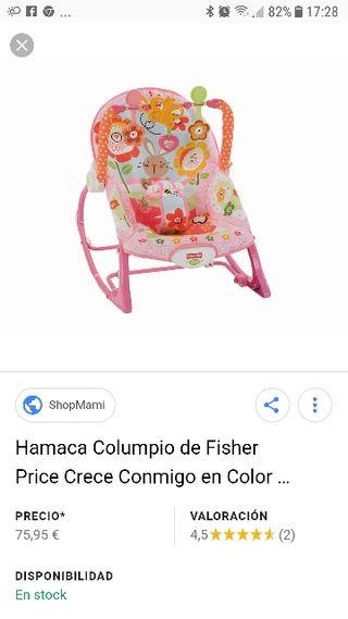 Hamaca bebe evolutiva de Fisher