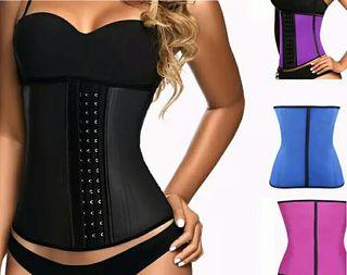 Faja corset adelgazamiento varios colores