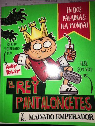 Libro El rey pantaloncetes