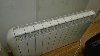 Radiadores de calor azul de bajo consumo