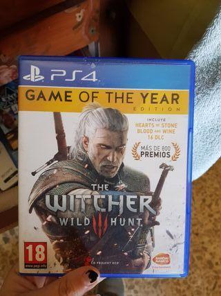 the witcher 3 edicion juego del año