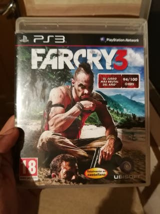 Farcry 3 Play Station 3