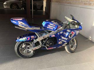 Mini moto para niño a gasolina