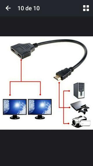 cable HDmi adaptador