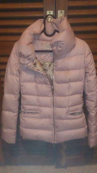 chaqueton rosa talla XS