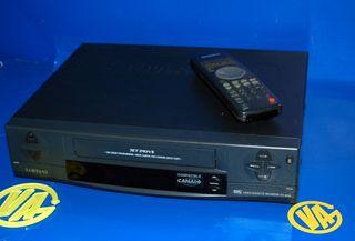 Reproductor de video SAMSUNG VHS modelo jet drive