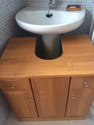 Mueble lavabo de segunda mano por 140 en madrid en wallapop for Lavabos segunda mano