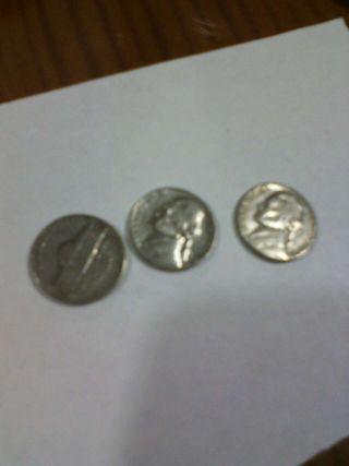 Monedas de 5 centimos de dolar 1€ cada una