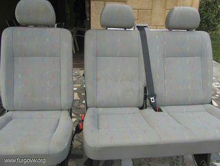 cambio asientos vw T4