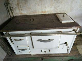 Cocina antigua en Tábara