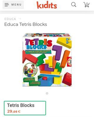 TETRIS BLOCKS 'Educa'