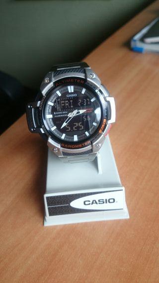 Reloj Casio termómetro barómetro altímetro