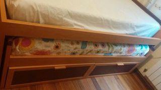 cama nido con un colchon incluido