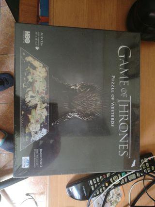 juego de tronos, puzzle of westeros