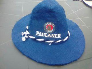sombrero cerveza Paulaner