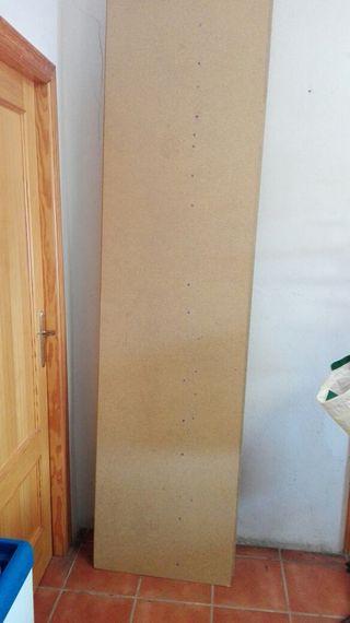 tableros aglomerado con patas de madera