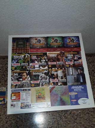 25 cds para ordenador y mapas de españa