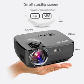 Proyector vídeo Digital HD, USB Y HDMI A ESTRENAR.