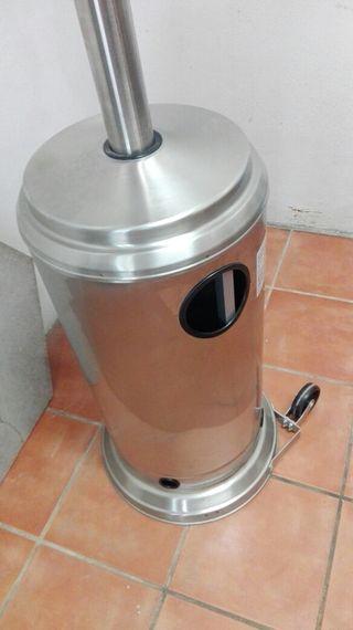 estufa de gas para interior y exterior