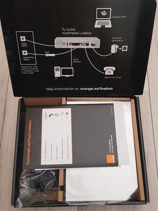 ME QUEDAN3 Router Orange wifi multimedia liverbox